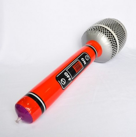 Micrófono Inflable
