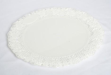 Bandeja Redonda Plastica para Torta N*39. de 30 cm de Diametro