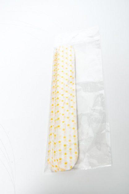 Pompón Lunares Amarillo