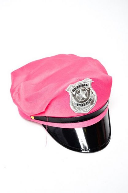 Gorro Policia Fucsia