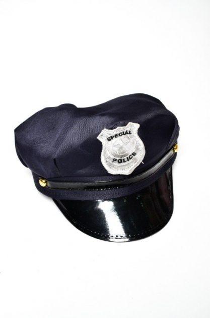 Gorro Policia Negro