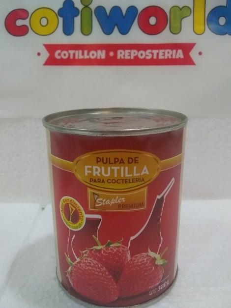 Pulpa para cocteleria frutilla