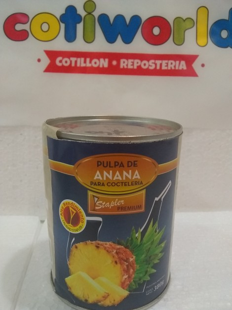 Pulpa de cocteleria anana