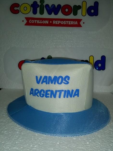 """Gorro de """"Vamos Argentina"""""""