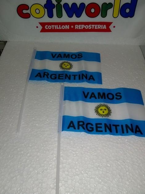 Banderita de mano Argentina