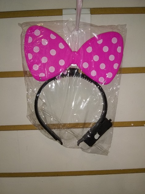 Vincha de Minnie Mouse