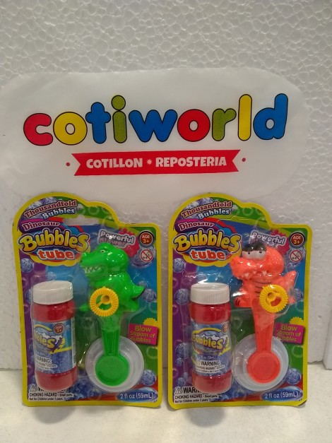 "Burbujeros ""Bubbles tube"""
