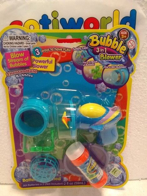 "Burbujeros ventilador 3 en 1 ""Bubble Blower"""