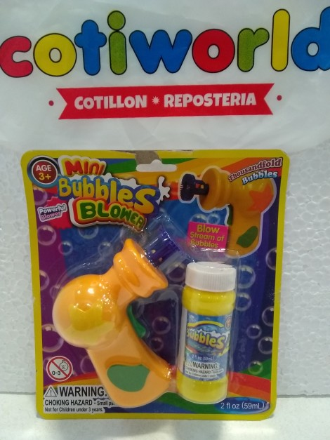 "Burbujero Mini ""Bubble Blower"""