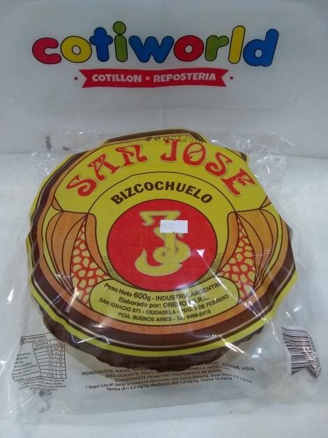 "Bizcochuelo redondo "" San Jose"" 600grs."