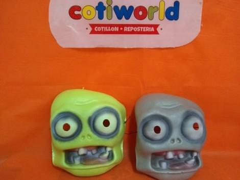 Mascaras zombie de goma eva