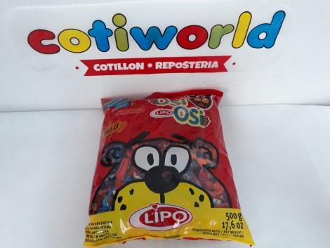 Caramelos frutales blandos comestibles OSI OSI x500gr.