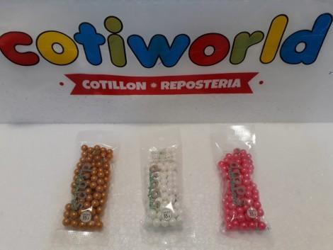 Perlas de pastillaje para decorar (35gr.)