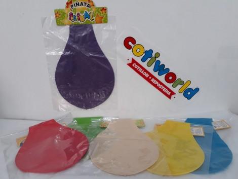 Piñatas de globo grandes surtidas de colores