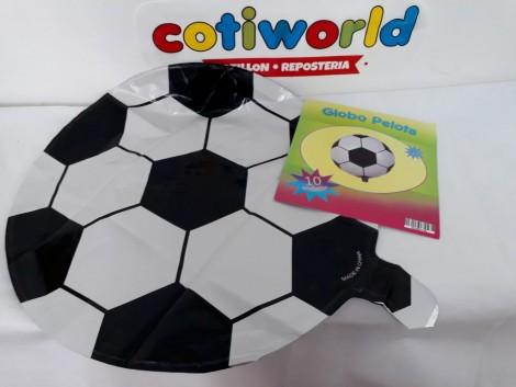 Globo metalizado de pelota