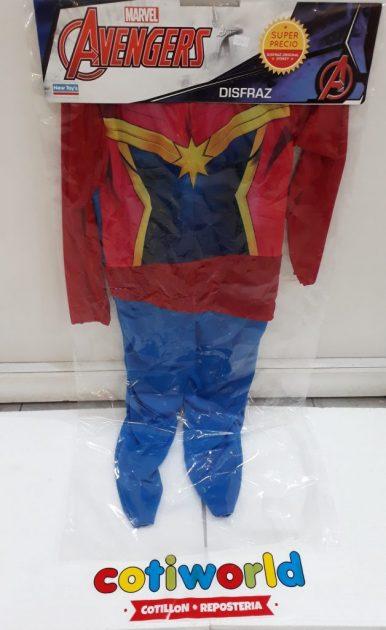 "Disfraz de nena ""Avengers"""