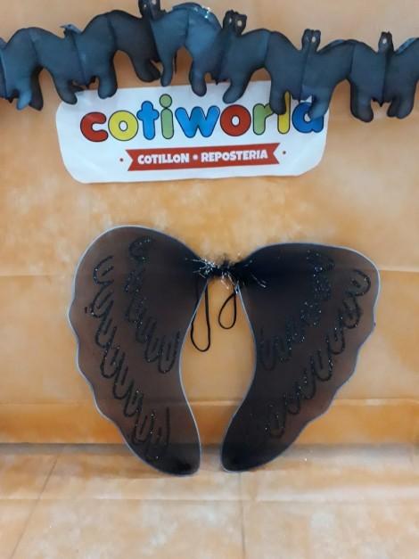 Alas de mariposa negra (48x43)