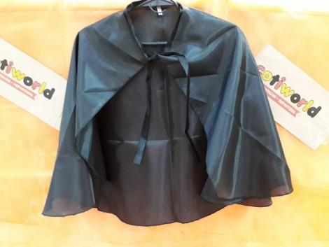 Capa negra clasica (talle S.M.L)