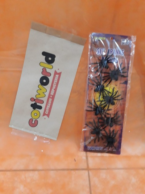 Set de arañas x8 unidades
