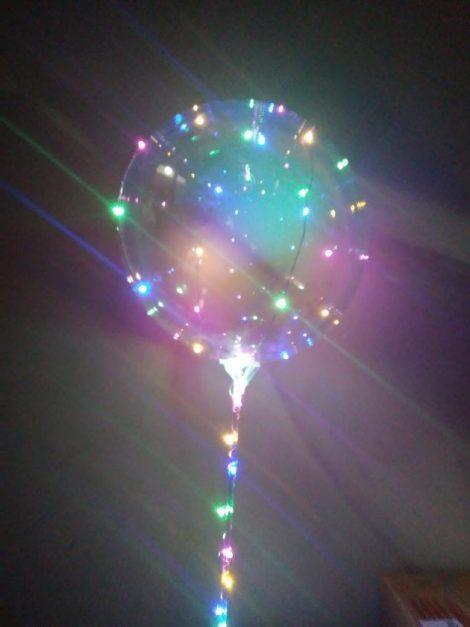 Globo burbuja luminoso