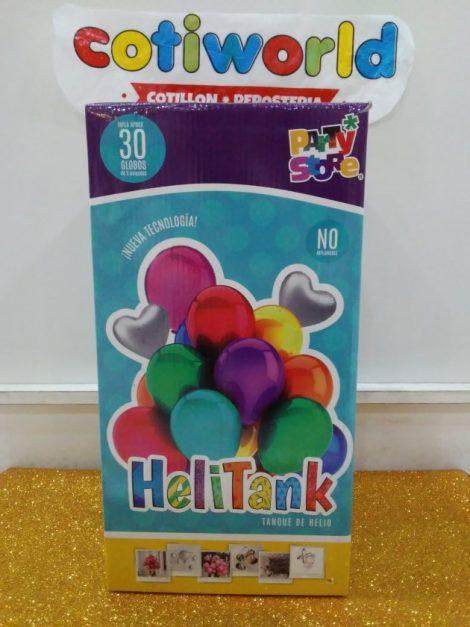 Garrafa descartable helio 30 globos